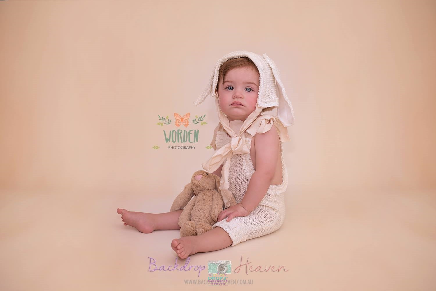 Backdrop - Perfect Portrait Honey Beige