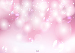 Backdrop - Pink Bokeh Bubbles