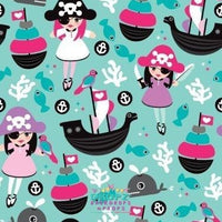 Backdrop - Pirate Princess