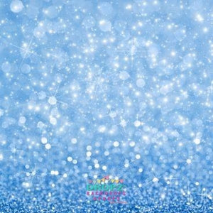 Backdrop - Pretty Blue Bling