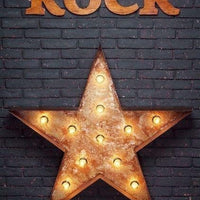 Backdrop - Rad Rock Star