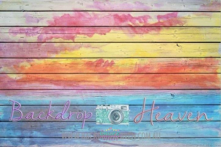 Backdrop - Rainbow Airbrush