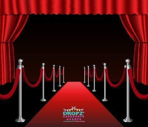 Backdrop - Red Carpet Theatre Backdrop
