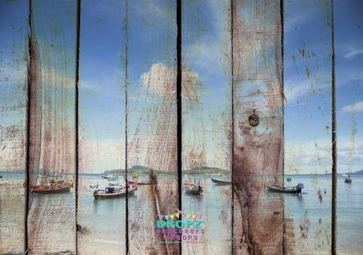 Backdrop - Seaside Planks