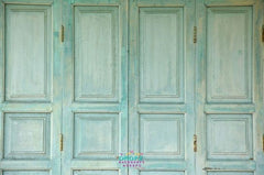 Backdrop - Shabby Mint Door Panels
