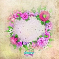 Backdrop - Sienna Floral Wreath