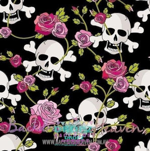 Backdrop - Skulls & Roses