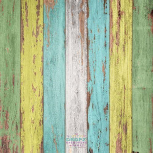 Backdrop - Spring Wooden Planks