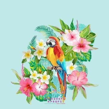 Backdrop - Tropical Parrot