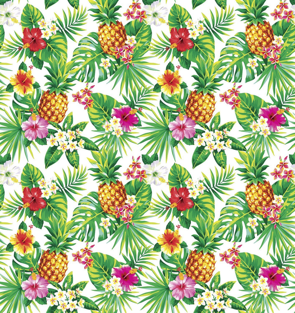 Backdrop - Tropical Pineapple