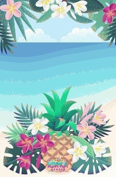 Backdrop - Tropicana Party