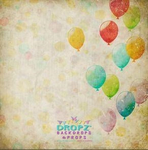 Backdrop - Vintage Balloons