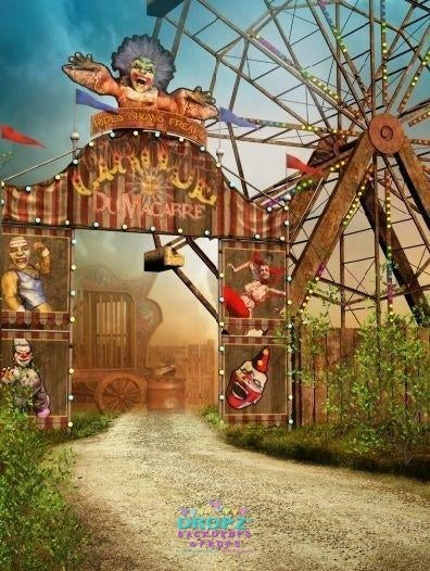 Backdrop - Vintage Circus
