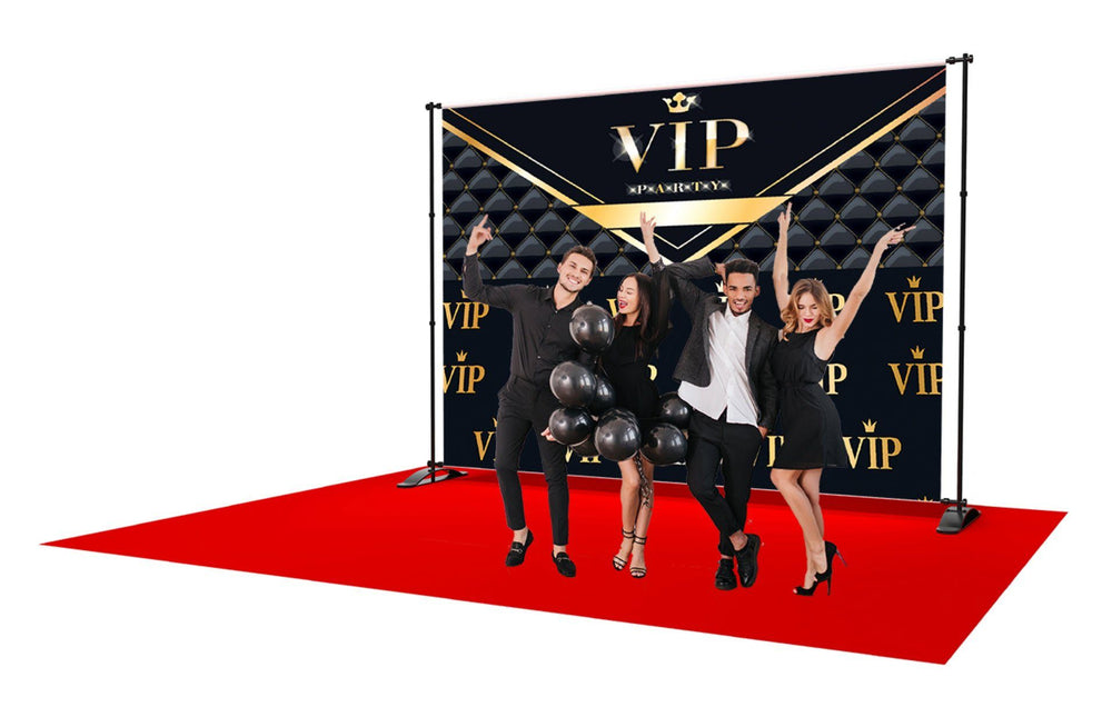 VIP Party and Event Backdrop