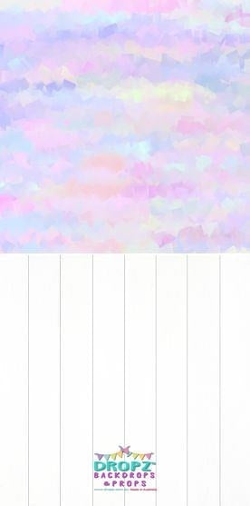 Backdrop - Watercolor Pastel Rainbow Combo