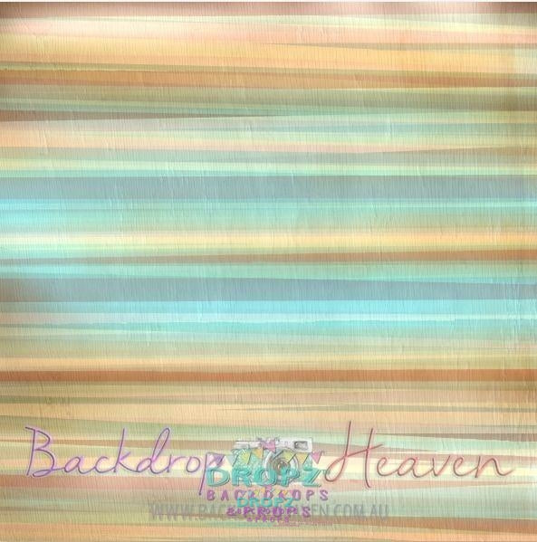 Backdrop - Watercolor Pastel Stripes