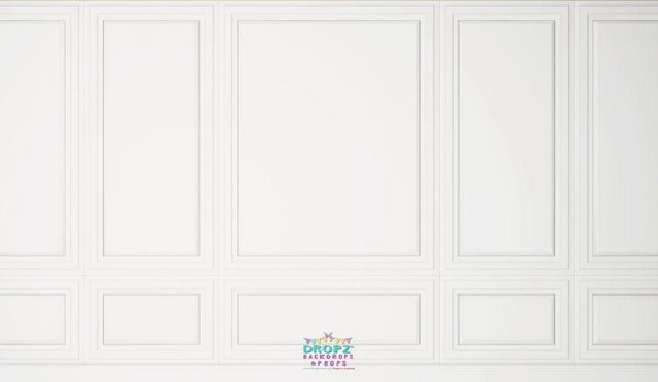 Backdrop - White Wall Panel