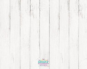 Backdrop - White Wooden Floor
