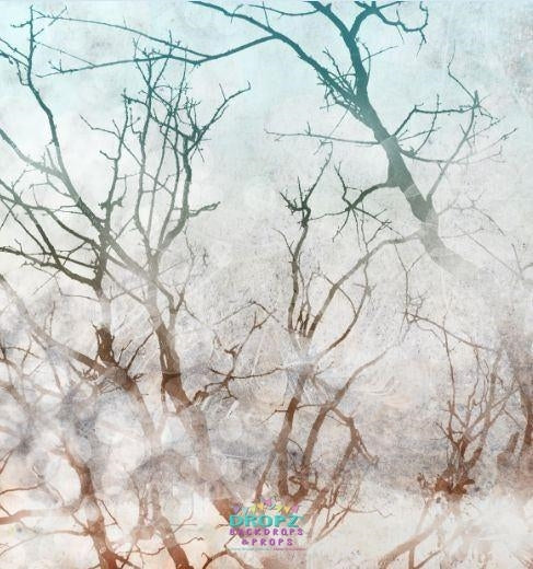 Backdrop - Winter Trees