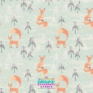 Backdrop - Woodland Fox