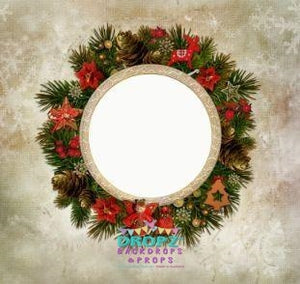Backdrop - Xmas Wreath