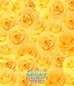 Backdrop - Yellow Rose
