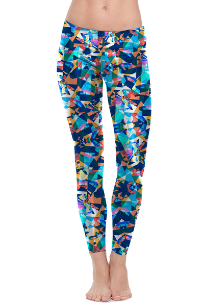allure + dazzle Pattern Leggings