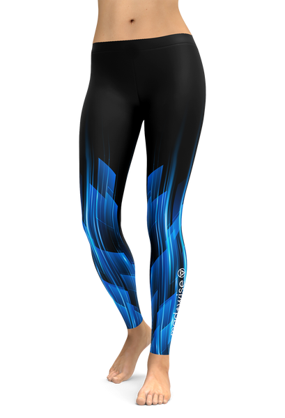 speed+light Pattern Leggings