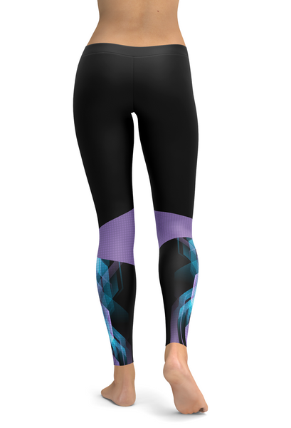 control+tangle Pattern Leggings