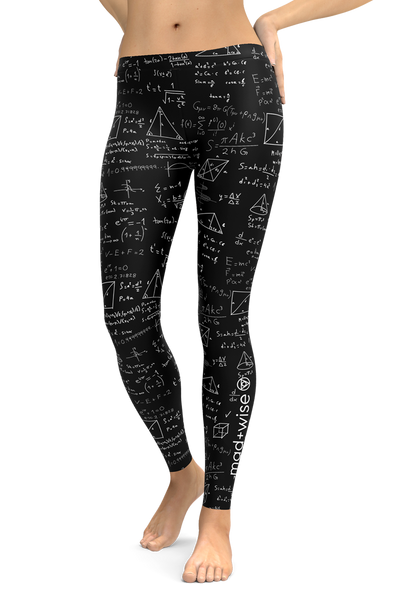 math+equations Pattern Leggings