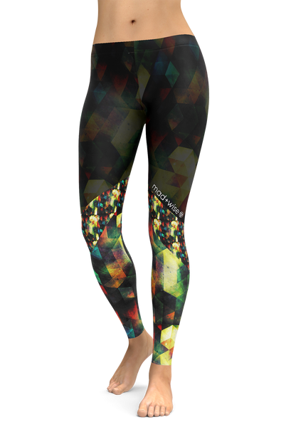 disco + lights Pattern Leggings