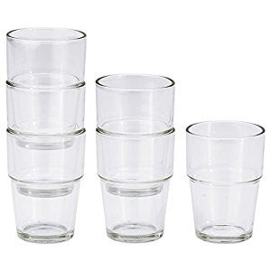 20137851 - REKO Glass, clear glass, 17 cl