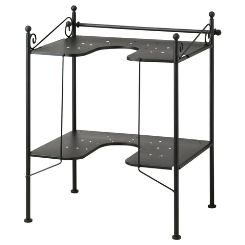 10192579 RONNSKAR Wash-basin shelf, black