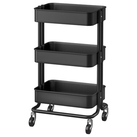 70333977 - RASKOG Trolley, black, 35x45x78 cm