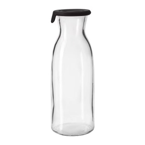 90291924 - VARDAGEN Carafe with lid, clear glass
