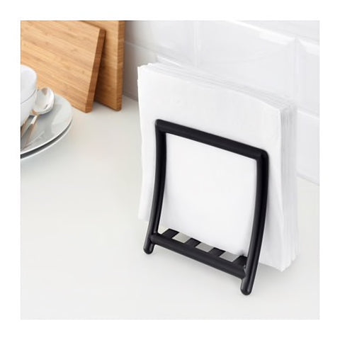 30342851 - GREJA Napkin holder, black