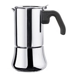 90163224 - RADIG Espresso maker for 6 cups, stainless stee