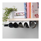 10165929 - VURM 4-bottle wine rack, stainless steel.
