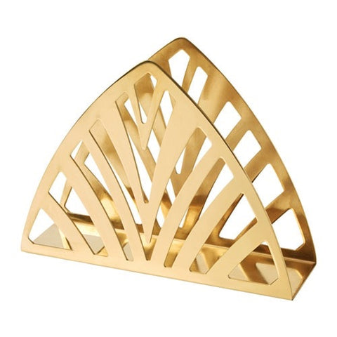 10350111 - TILLSTALLNING Napkin holder, brass-colour