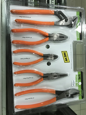 792363625975 PITTSBURGH Pliers Set of 5