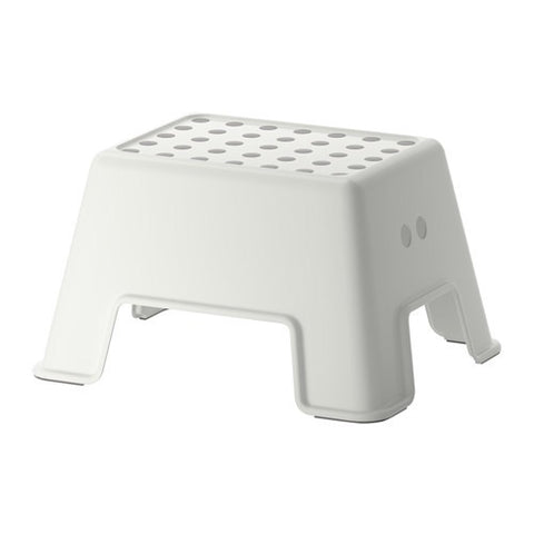 40265164 BOLMEN - Step stool, white.