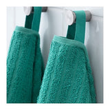 00353624 - VAGSJON Washcloth, turquoise, 30x30 cm /4 pieces