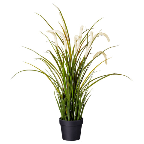 00188224 FEJKA Artificial potted plant, grass, 10 cm.