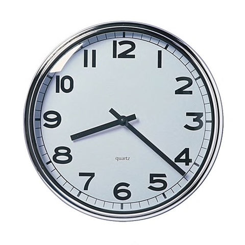 90391909 - PUGG Wall clock, stainless steel