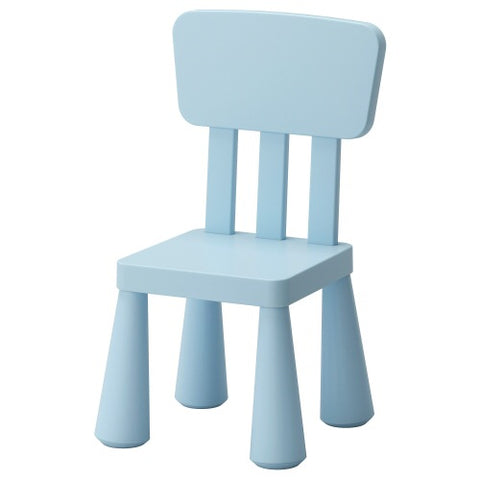 10267555 - MAMMUT Children's chair, light blue in/outdoor