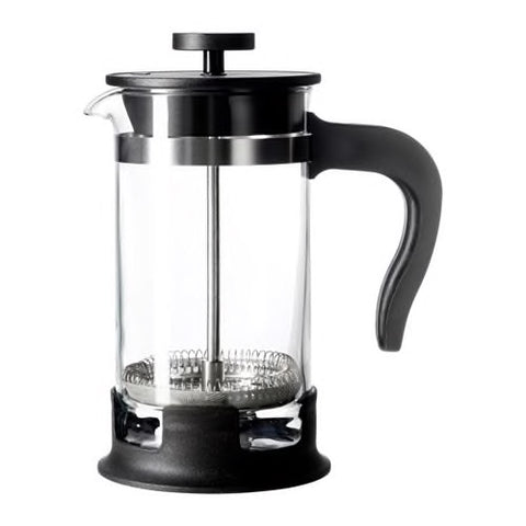 20297849 UPPHETTA - Coffee/tea maker, glass, stainless steel, 0.4