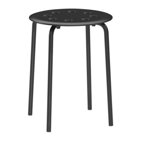 00162380 - MARIUS Stool, black