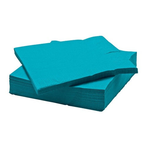80278145 - FANTASTISK Paper napkin, turquoise 	 / 50 pieces