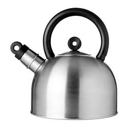 50239594 - VATTENTAT Kettle, stainless steel, black,