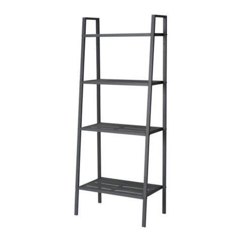 60186401 LERBERG Shelf unit, dark grey